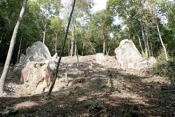 夫婦岩遺跡