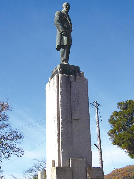 47-犬養木堂 銅像