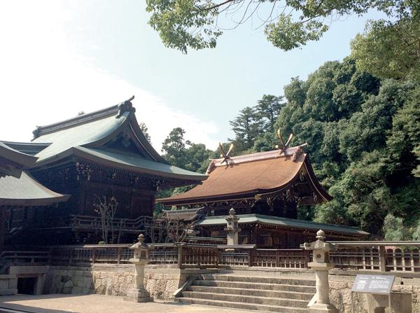 01_吉備津彦神社全景
